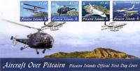 Aircraft over Pitcairn